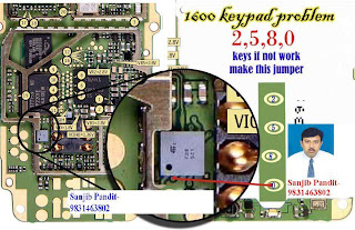 nokia 6030 keypad repair