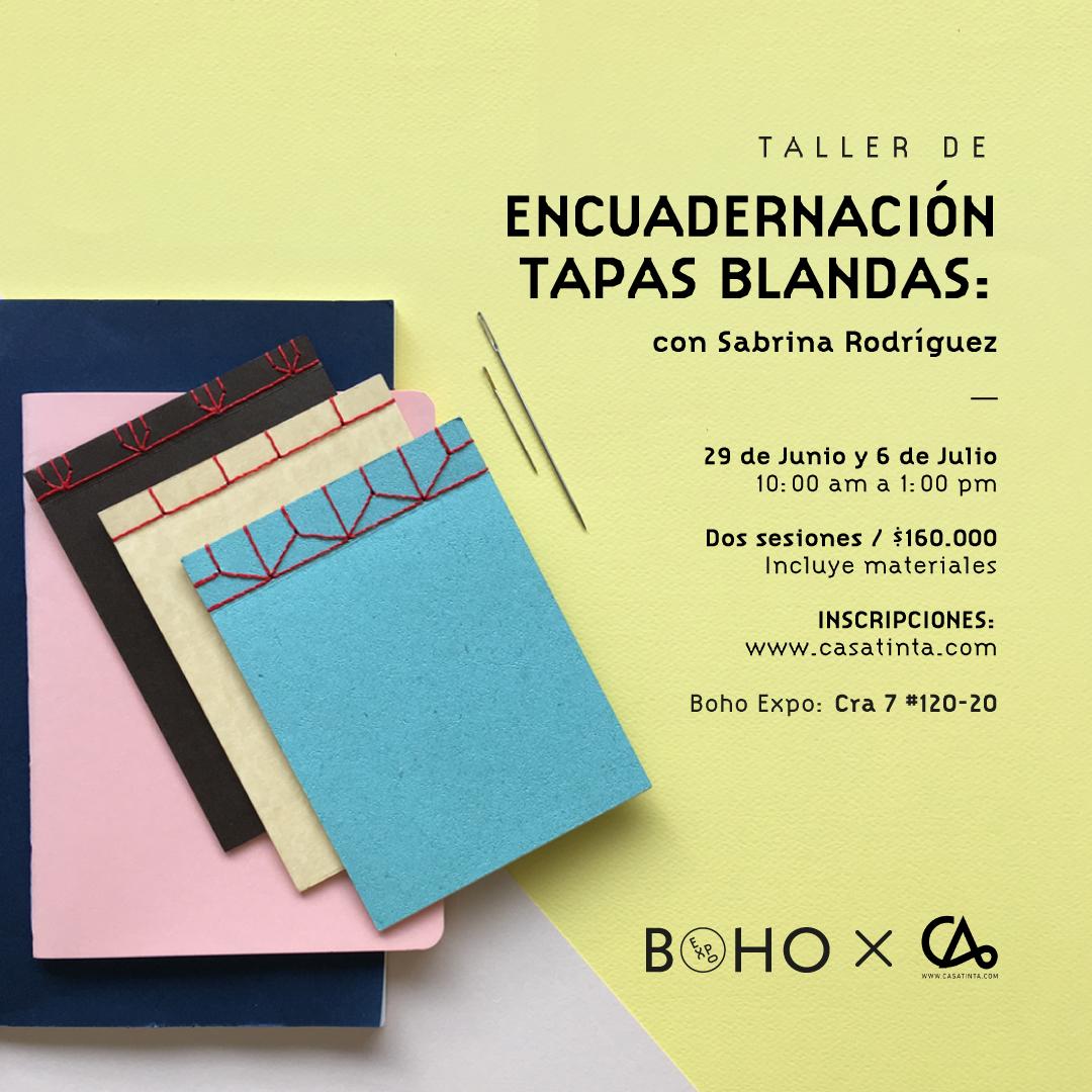 BOHO: ENCUADERNACIÓN // 29 jun