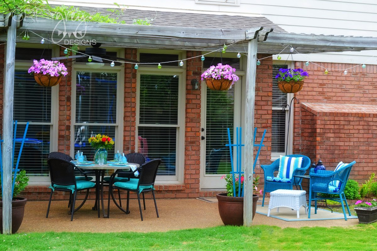 For A Long Time, I Have Been Wanting To Have A Seating Area Where I Could  Put My Feet Up And Watch The Kids While They Were Out In The Yard, ...