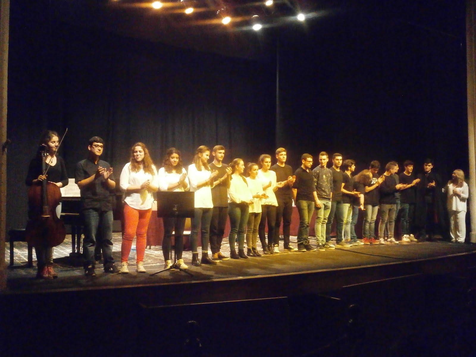 """Alumnos del IES Cencibel representando """"Don Juan Tenorio"""""""