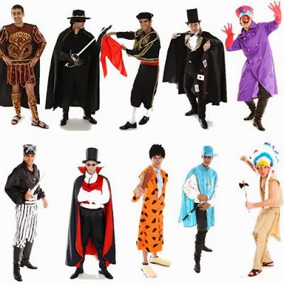 Fantasias para Homens no Carnaval