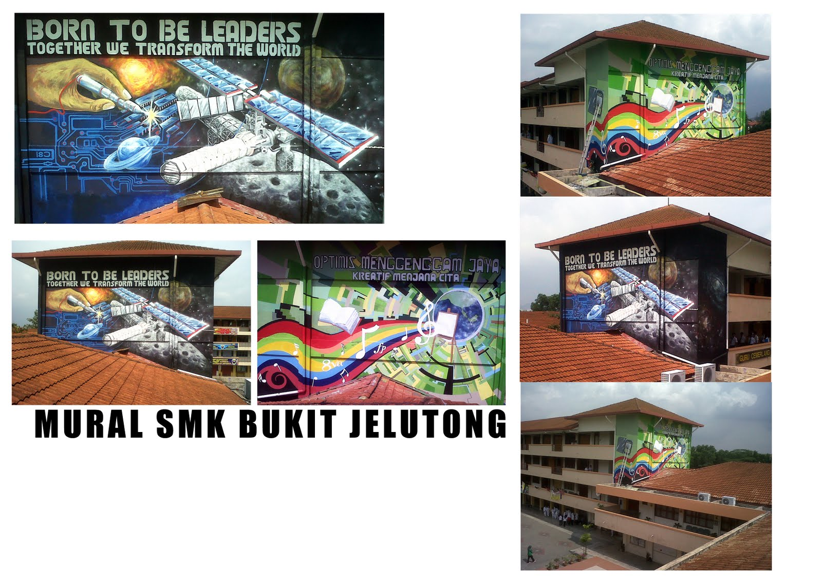 Warna arts may 2011 for Mural sekolah