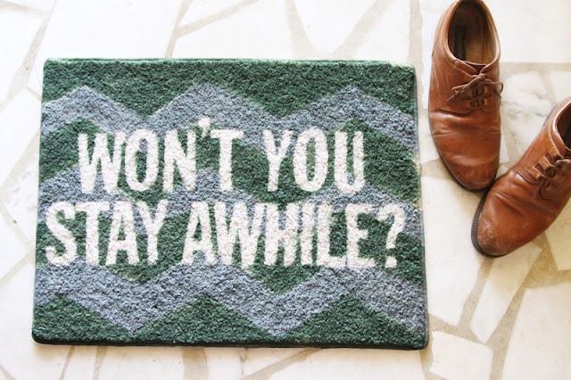 Tutorial felpudo personalizado - DIY rug