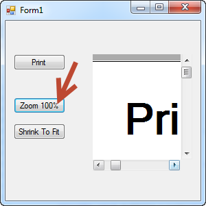 Click On The Zoom Button Document Is Set To 100 And You Can Scroll Around It