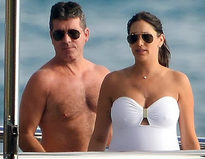 funny Simon Cowell Lauren Silverman nipples