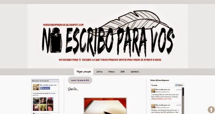 http://noescriboparavos.blogspot.com.ar/