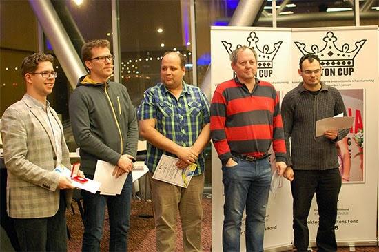 Le classement de la Rilton Cup © Chess & Strategy