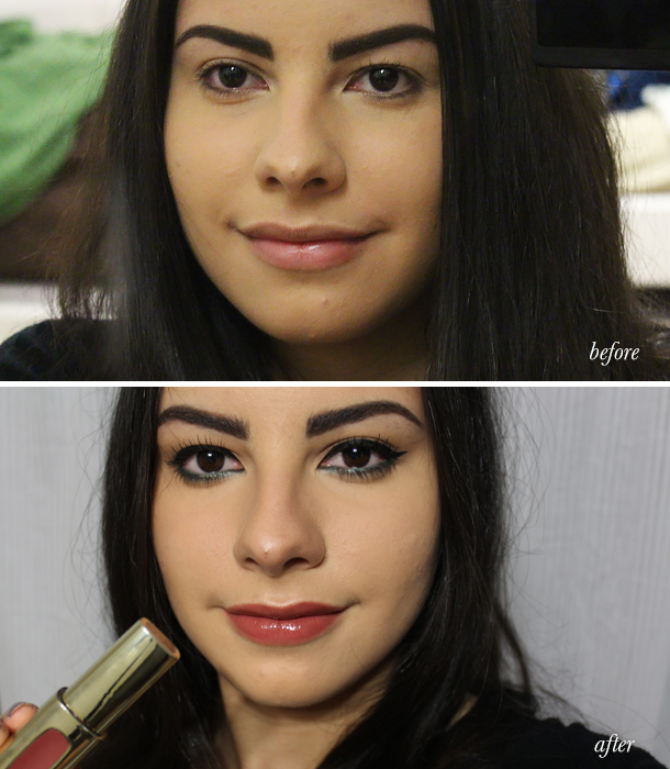 loreal porquetulovales latina makeup look fotd true teal eyeliner