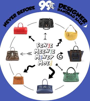 Chanel & Hermes Bags for 99-Cent, Now!