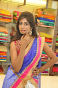 Mounika Reddy Glam pics in Half saree-thumbnail-4