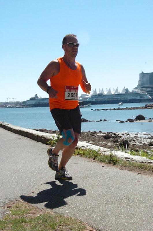 Vancouver Marathon 2013 final miles