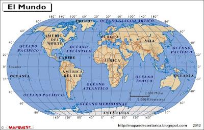 Mapamundi, atlas