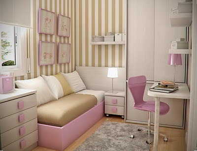 Simple and Minimalist Teen Bedroom Design by Sergi Mengot 12