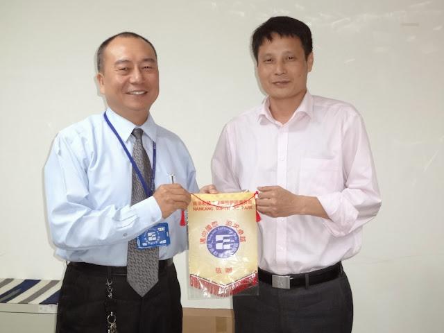 蘇州科技考察團參訪