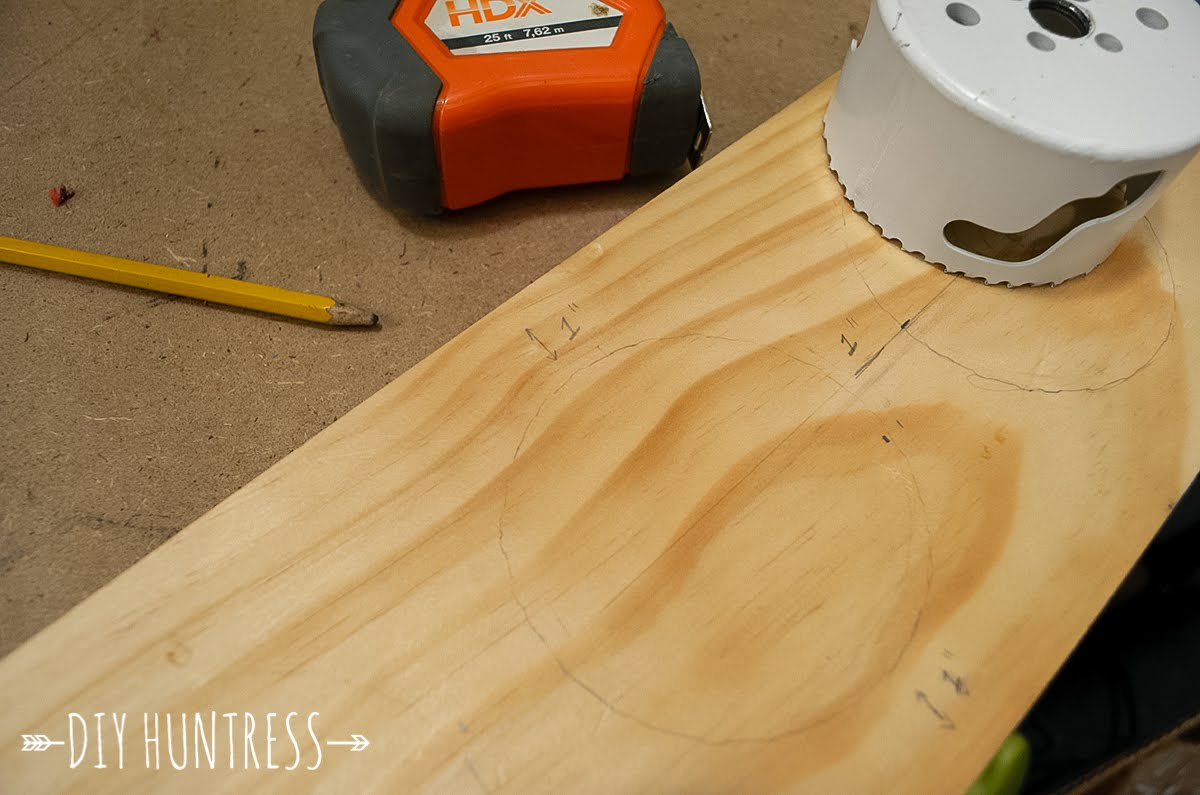 How to cut holes in wood - Use Your L Square Ruler To Create A Cut Line That Is 1 From The Edge Of The Last Hole This Will Be Your Cut Line