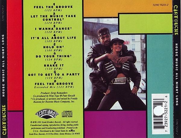 Seja bem vindo cartouche house music all night long for 1991 house music