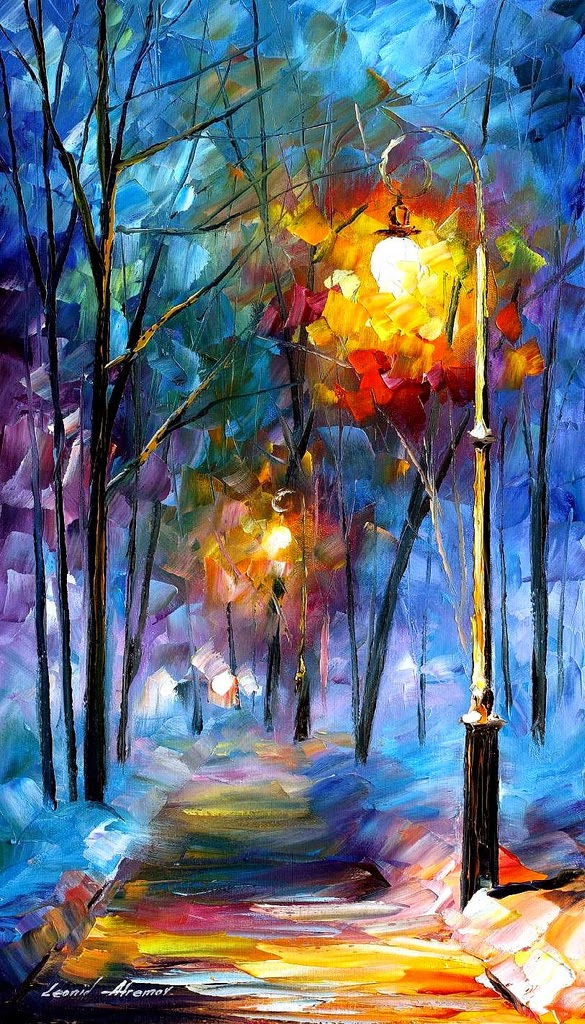 09-Leonid-Afremov-Expression-of-Love-for-the-Art-Of-Painting-www-designstack-co