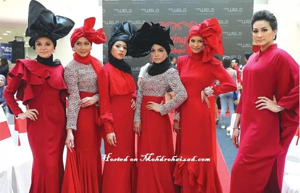 Gambar+Dynas+Mokhtar+-+majlis+Amazing+Red+-++Kurung+-+Kebaya+-+Hijab+-+Gadis+Muka+Dua
