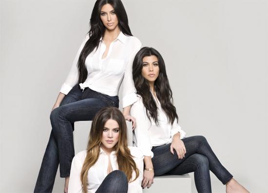 Kim Kardashian et ses soeurs lancent leur ligne de jean's!
