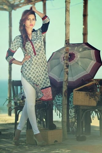 Ethnic by outfitters Lawn 2014