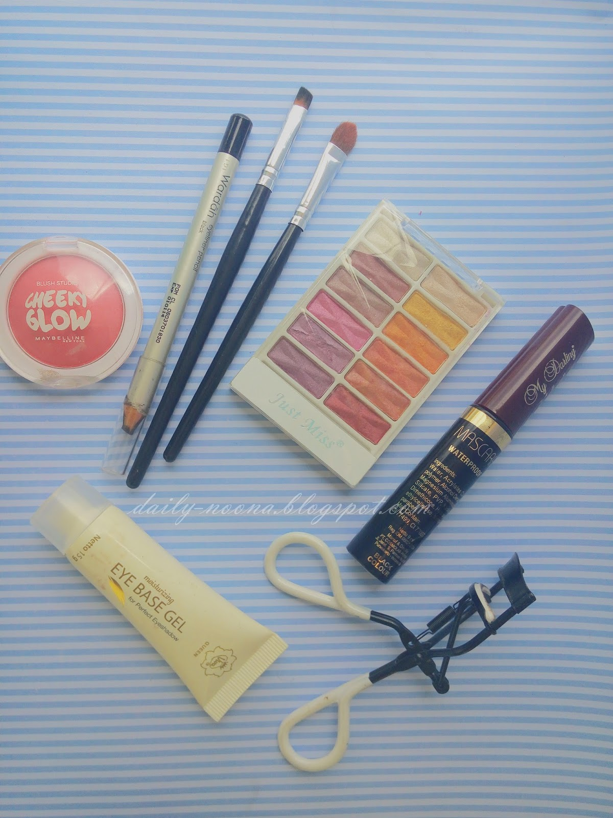 Noona Blog Tutorial Apink Namjoo Remember MV Eye Makeup