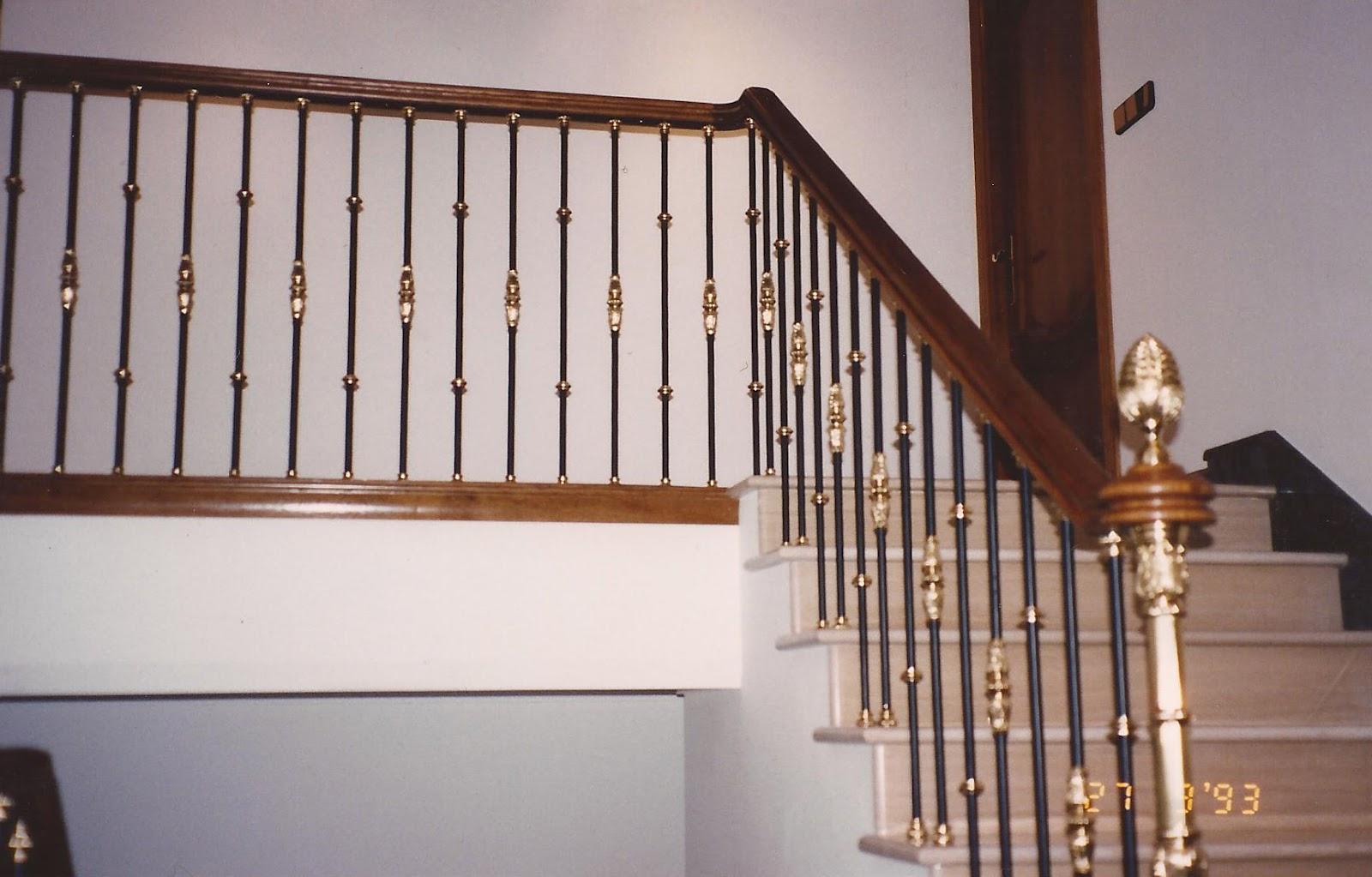 Pasamanos hierro forjado para escaleras simple hierro for Escalera madera sodimac