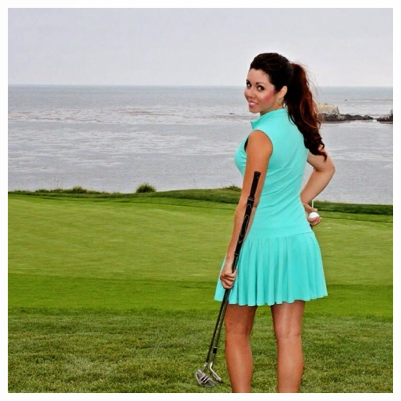 Cute Women's Golf Clothing Girls Golf in Style at Pebble