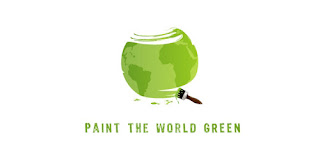 Logo of Paint The World Green by eBloggerTips.com
