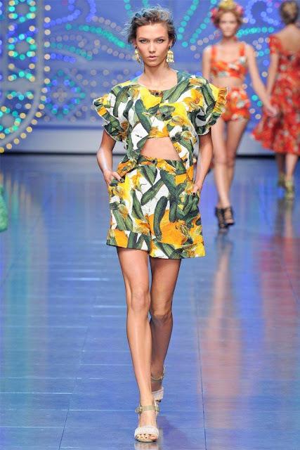 dolce gabbana6 - Dolce&Gabbana Ilkbahar 2012 | Milan Moda Haftas�