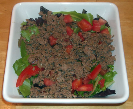 My hcg cooking blog favorite recipes and discoveries on my hcg p2 taco salad forumfinder Images