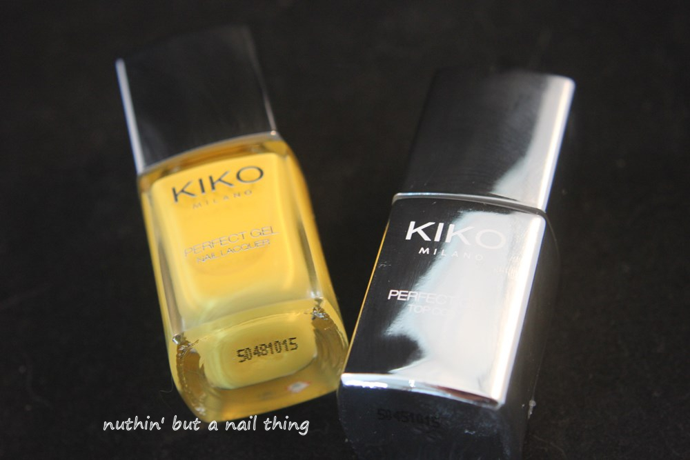 Kiko Milano Perfect Gel Duo - Yellow