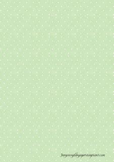 Folios de color azul verde pastel Folios con topos para imprimir