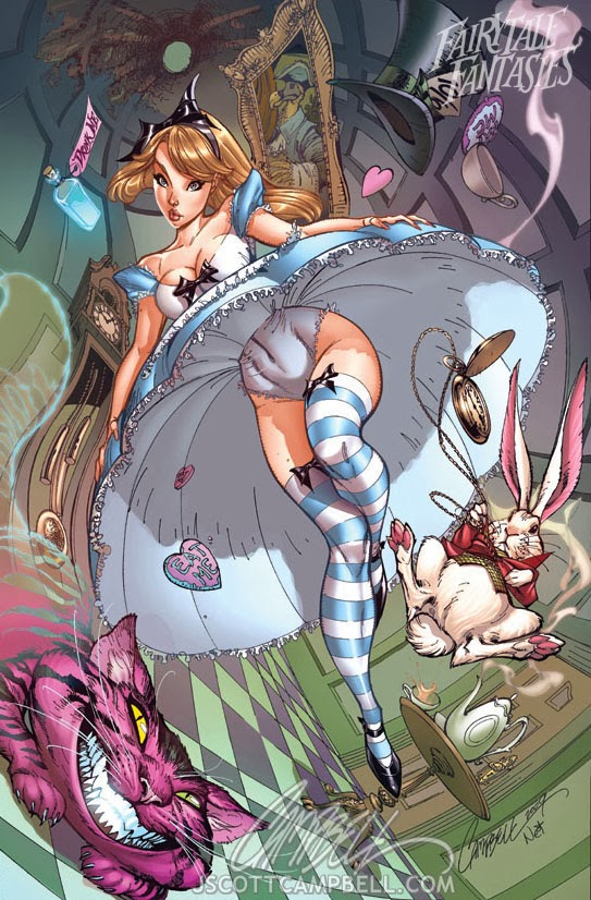 alice in wonderland Fairytale Fantasies Disney