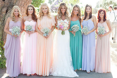 Wedding Bridesmaid Dresses Collection 2013