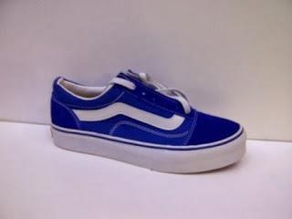 Sepatu Vans Old Shcool Import biru murah