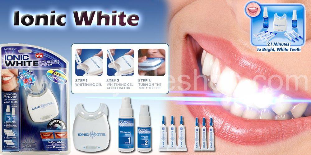 myteleshop com ionic white teeth whitening magic teeth whitener