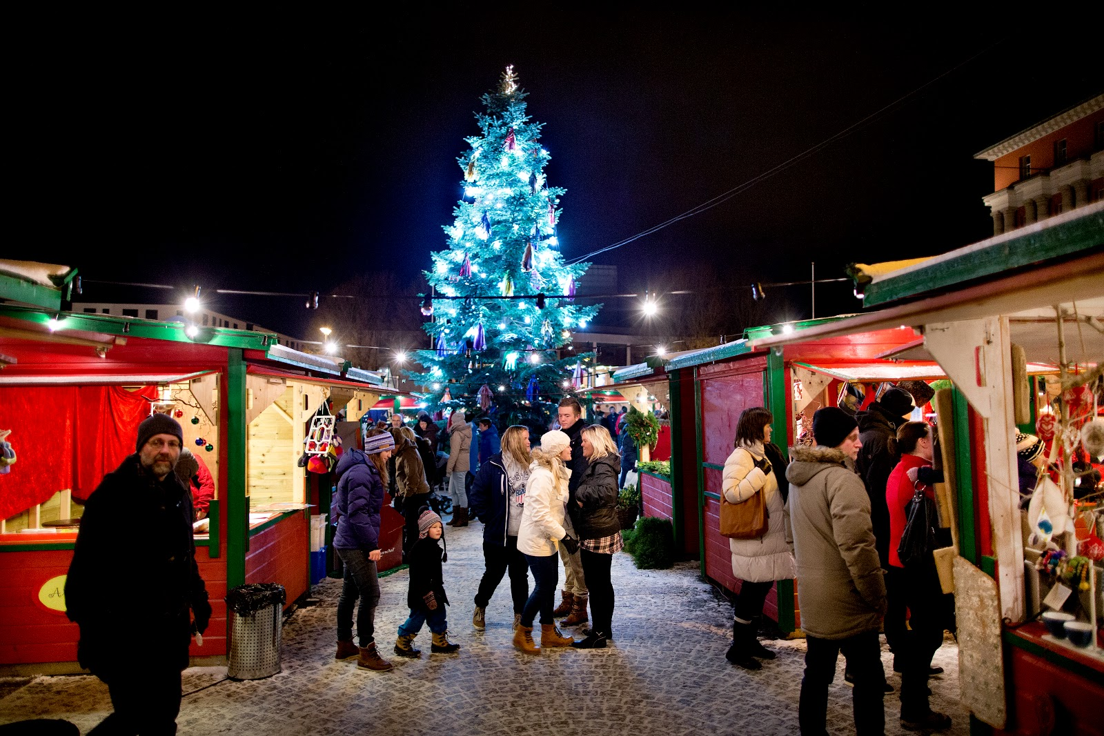 Christmas Market in Haugesund. Photo: Haakon Nordvik.