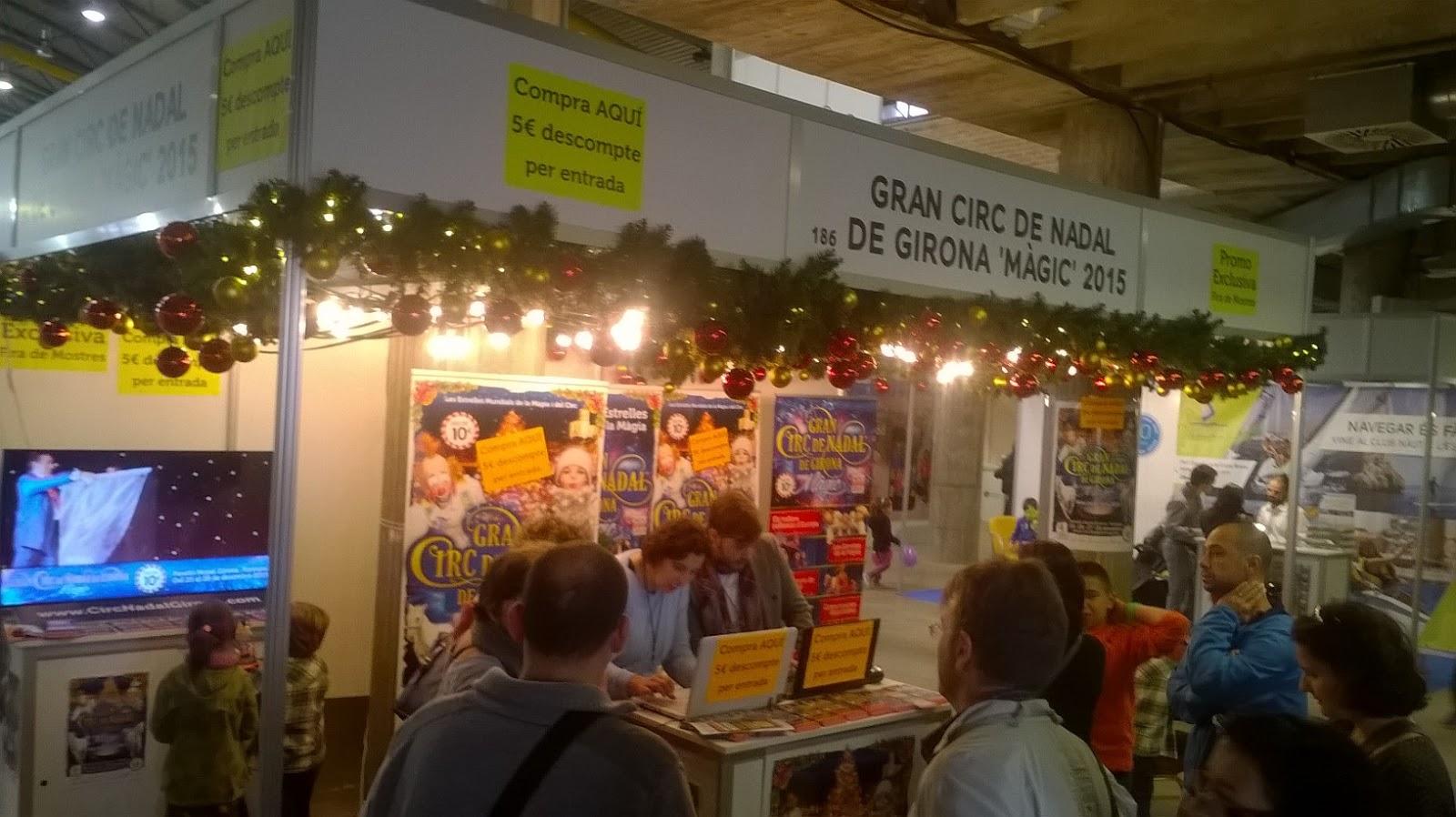 Burguscircus gran circ de nadal girona 2015 vente for Vente sur stand