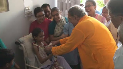 Jagadguru Kripalu Ji Maharaj at JKP Charitable hospital Mangarh 1