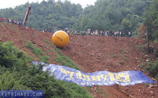 lelaki china cipta kabin bencana bahtera nabi nuh noah ark