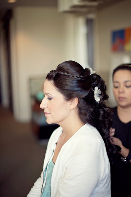 Tangled Inspired Wedding Hairstyle