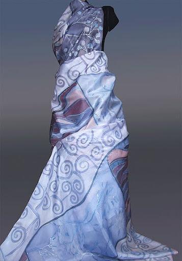 ръчно рисуван плат