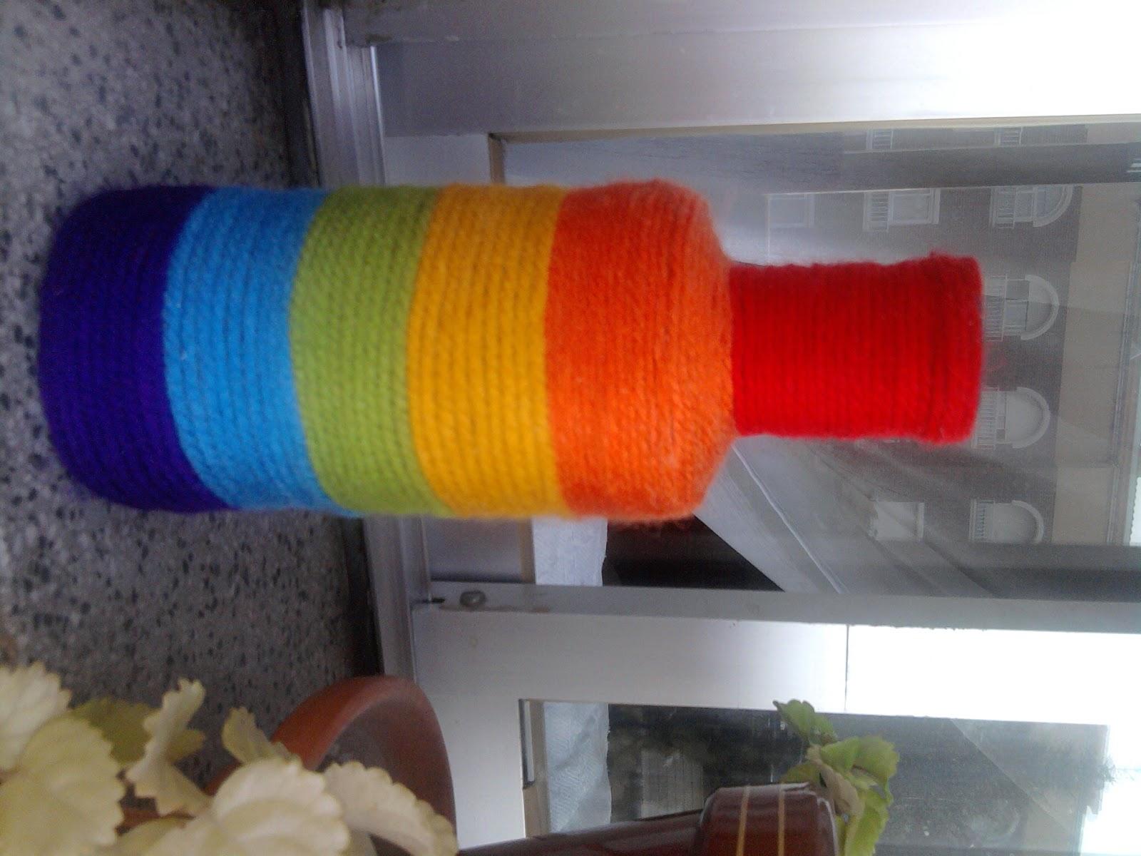 mis trabajos con lana