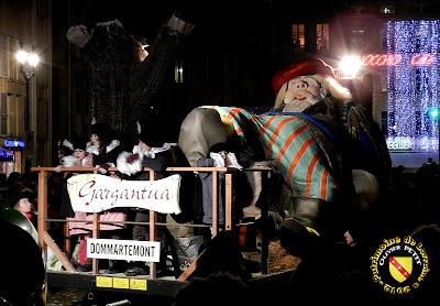 NANCY (54) - Le défilé de la Saint-Nicolas 2012