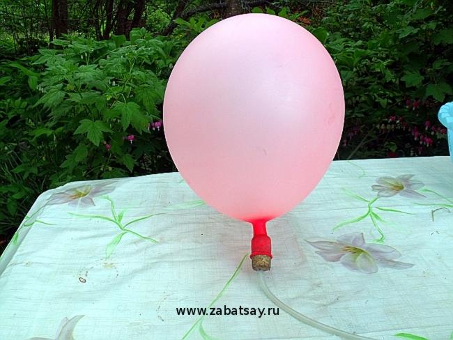 Как сделать воздушный шарик гелевым