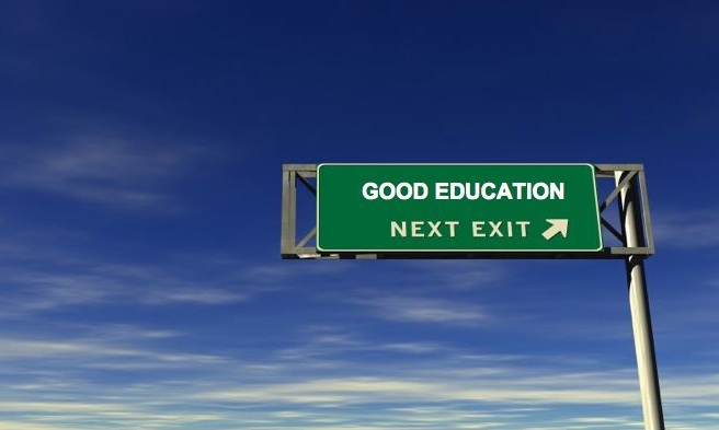 the definition of a good education Choices in education abound, and many parents are curious about exploring all the options however, the traditional model of classroom education is.