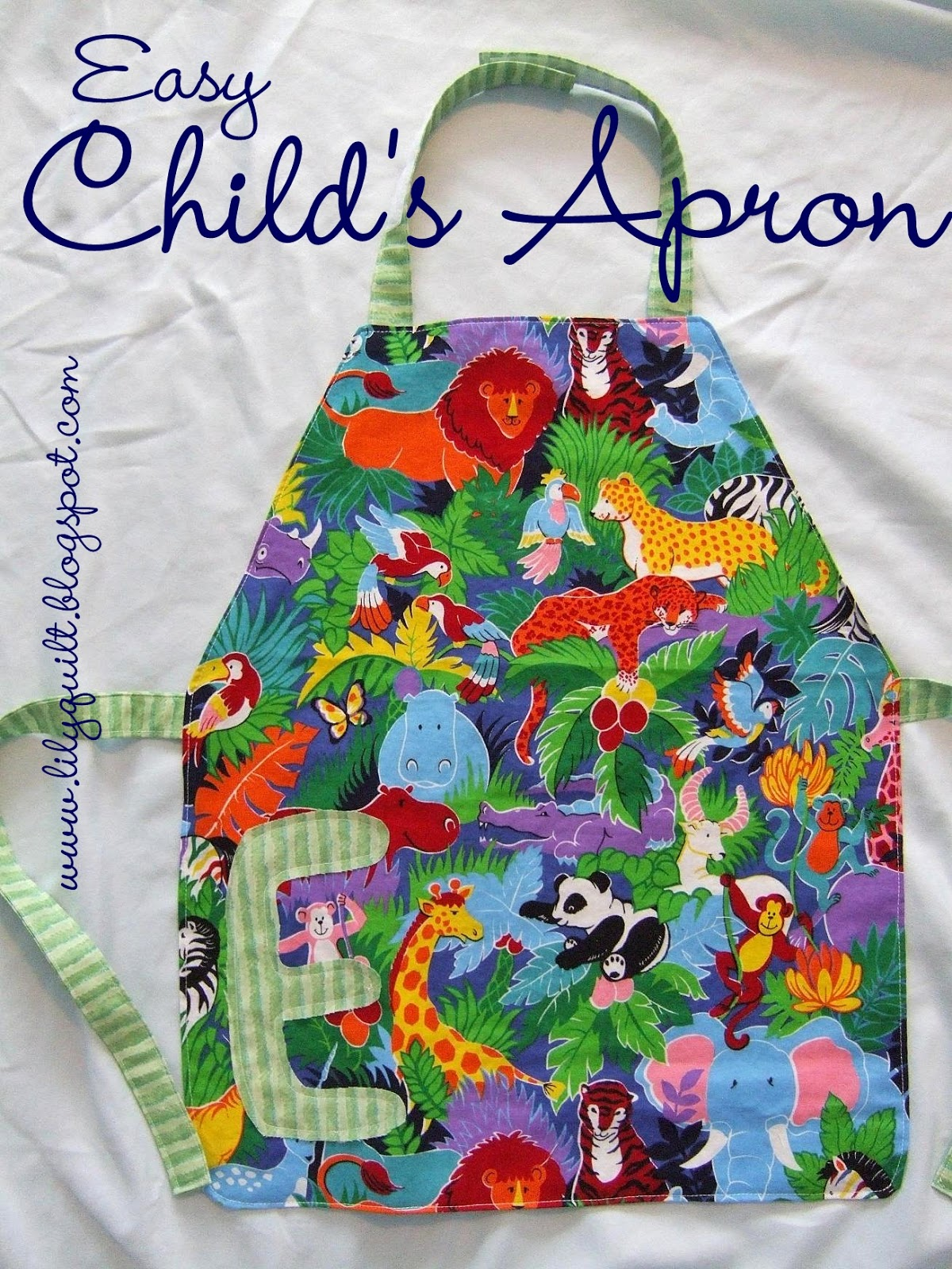 Childs Apron Pattern Amazing Inspiration Design