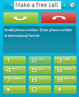 Make a free call