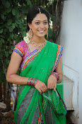 Actress Anjali Rao in Half Saree-thumbnail-10