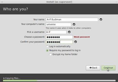 create new user